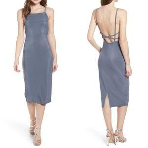 Leith Womens Strappy Bodycon Dress Sz XXL